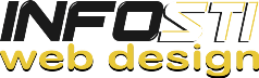 Logo Infosti Web Design